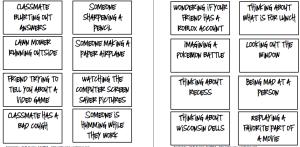 Example slips