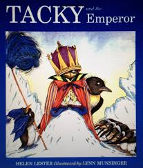 Tacky and the Emperor book jacket