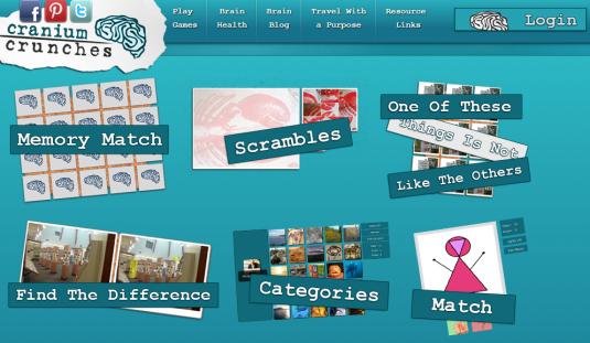 Craninium Crunches homepage